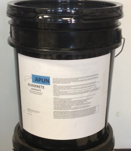 Alaskrete 50lb bucket